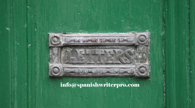 contact with spanish copywriter