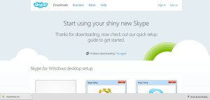 How to install skype for Spanish classes step 3