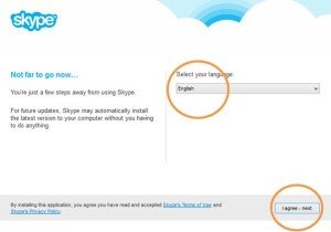 How to install skype for Spanish classes step 4