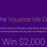 Visme Launches a Contest, Cash Prize of $2,000
