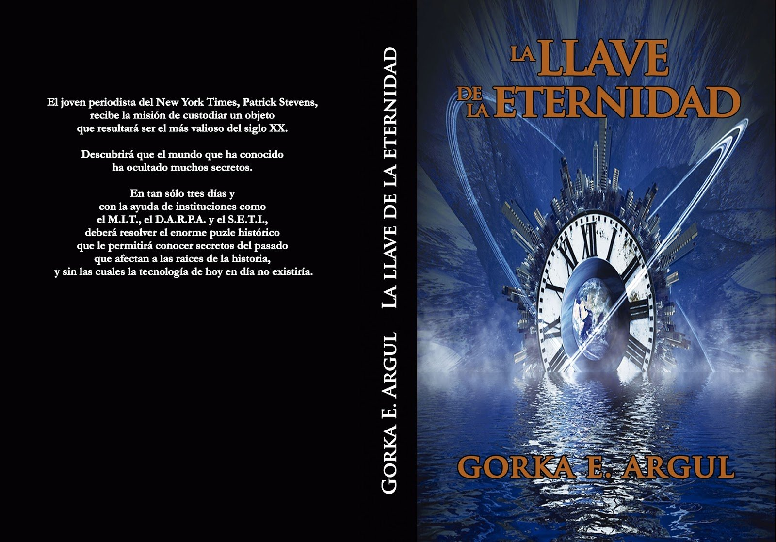 cover of la llave de la eternidad